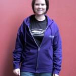 Purple GRFA Crew Hooded Sweatshirt