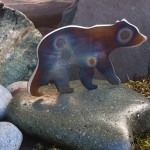 Metal Art Bear