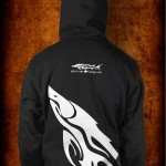 Fishbum Sturgeon Hoodie Black