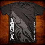 Fishbum Monster Sturgeon T-Shirt – Black