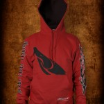 Fishbum Sturgeon Hoodie – Red