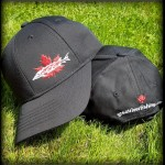 Black Canadian Sturgeon Ball Cap
